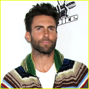 Adam Levine Flour-Bombed at 'Jimmy Kimmel' - See th