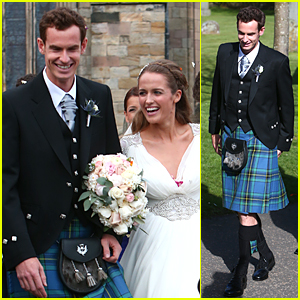 Andy Murray Marries Kim Sears - See the Wedding Pics!