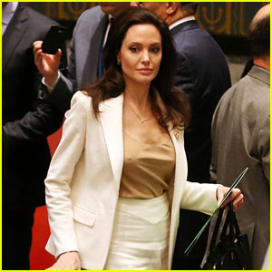 Angelina Jolie Briefs UN Security Council on Syria Crisis (Video)