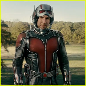 'Ant-Man' Full Trailer - Watch Paul Rudd as Marvel's Superhero!