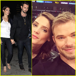 Ashley Greene & Kellan Lutz Reunite for Fun Night Out!