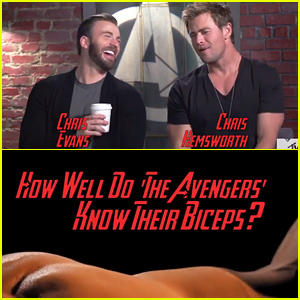 'Avengers' Cast Identify Their Co-Stars By Their Bare Biceps - Watch Now!