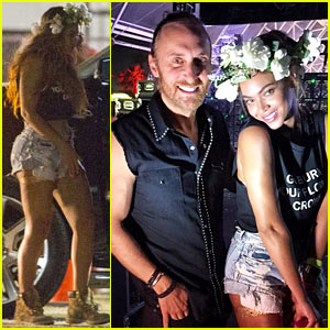 Beyonce Surprises During David Guetta's Coachella Set!