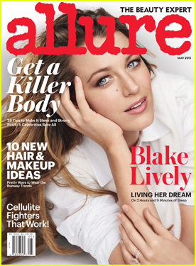Blake Lively Says Breast Feeding Is 'Full Time Job'