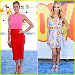 Brittany Snow & Anna Camp Are Looking 'Perfect' at MTV Movie Awards 2015!
