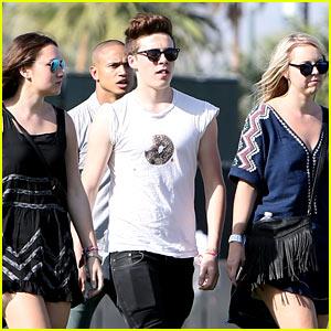 Brooklyn Beckham Is the Ladies Man at Coachella 2015