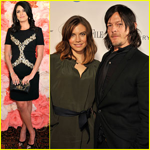 Cecily Strong & Norman Reedus Kick Off White House Correspondents' Weekend