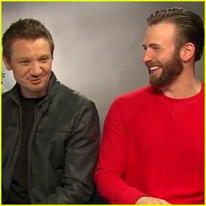Chris Evans & Jeremy Renner Call Scarlett Johansson's Black Widow 'Slut' & 'Whore' (Video)