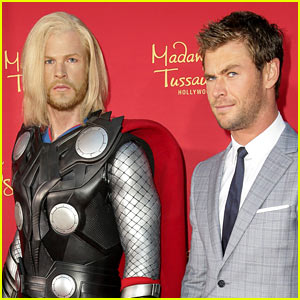 Chris Hemsworth's Wax Figure Doesn't Really Look Like Him