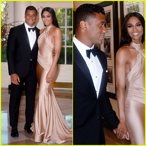 Ciara & Russell Wilson Make First Appearance As a Couple!
