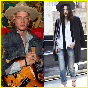 Cody Simpson & Bella Hadid Show Off Their Modeling Skills for Denim & Supply Ralph Lauren