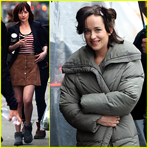 Dakota Johnson Starts Shooting 'How to Be Single' in NYC