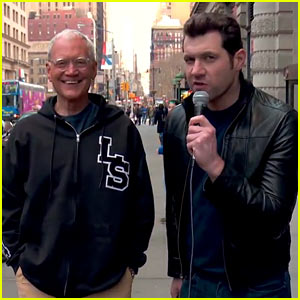 David Letterman Takes a Spin on 'Billy on the Street'! (Video)
