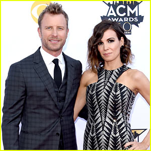 dierks bentley & wife cassidy black attend acm awards 2015! | 2015