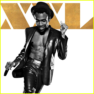 Donald Glover Shows His Sculpted Abs for 'Magic Mike XXL' Poster