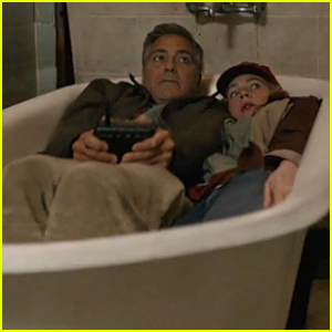 George Clooney & Britt Robertson Try to Escape 'Tomorrowland' in New Trailer - Watch Now!