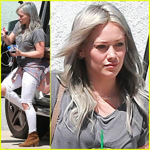 Hilary Duff Had a Mini 'Lizzie McGuire' Reunion Last Night!