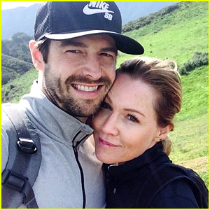 Jennie Garth and dave abrams