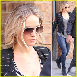 Who is jennifer lawrence dating april 2016