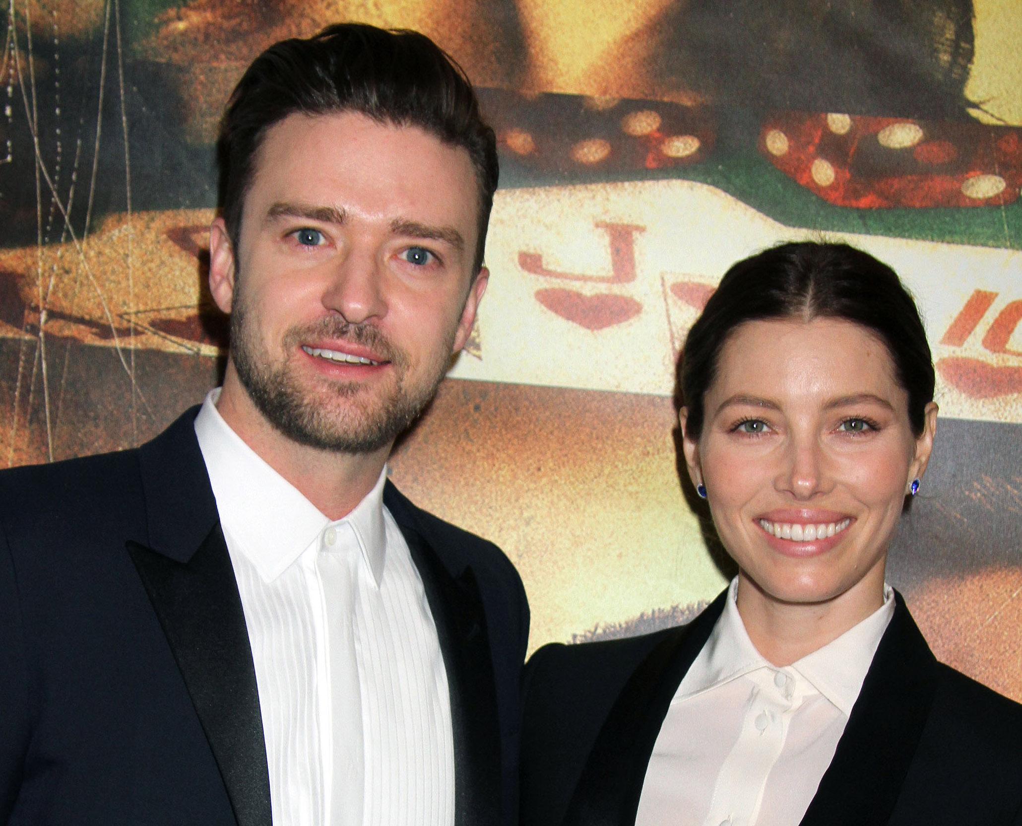 Jessica Biel and husband