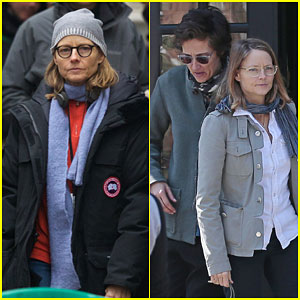 Jodie Foster Takes a Break From 'Money Monster' to Spend Time With Her Wife