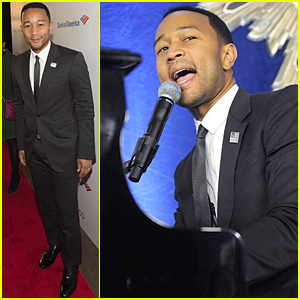 John Legend Brings Attention to Schools & Prisons at Politico Discussion