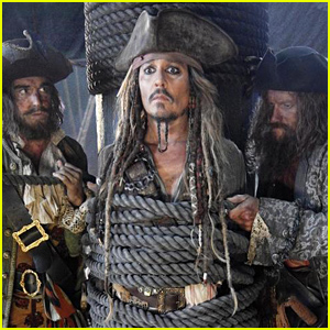 johnny depp as jack sparrow in pirates 5 see the first photo