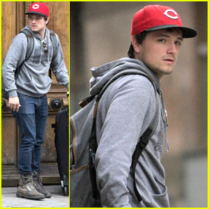 Josh Hutcherson Leaves Claudia Traisac's Place In Madrid