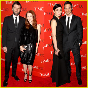 Julianne Moore & Julianna Margulies Bring Their Handsome Husbands to Time 100 Gala