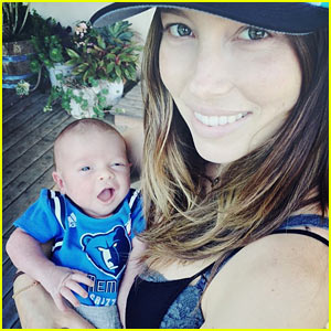Justin Timberlake & Jessica Biel Debut Baby Silas' First Photo!