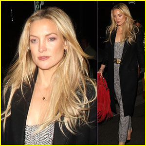 Kate Hudson Stuns in a Chic Jumpsuit For Her Night Out