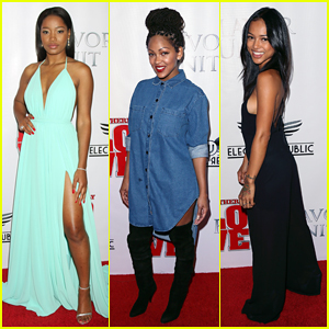 Keke Palmer, Meagan Good, & More Step Out In Style for 'Brotherly Love' Premiere!