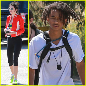 Kendall Jenner Enjoys Hiking With Pal Jaden Smith