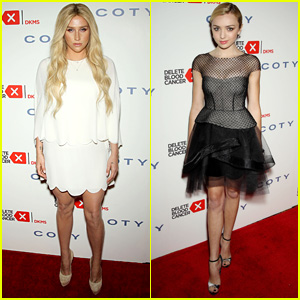 Kesha & Peyton List Dress Up for Delete Blood Cancer Gala 2015