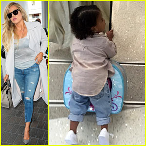 Khloe Kardashian Shows North West Loves Her 'Frozen' Suitcase Still!