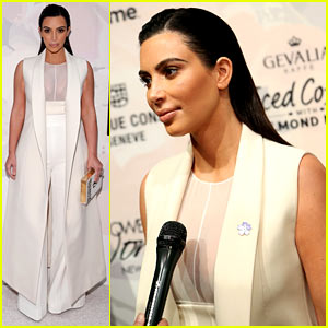Kim Kardashian Comments on Bruce Jenner's Interview Special