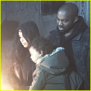 Kim Kardashian & Kanye West Have North Baptized in Israel