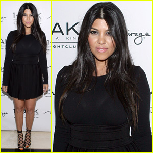 Kourtney Kardashian Celebrates 36th Birthday in Las Vegas