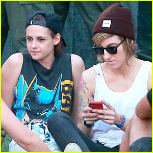 Kristen Stewart Enjoys Coachella Weekend 2 with Alicia Cargile