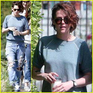 Kristen Stewart Steps Out After Her 25th Birthday!