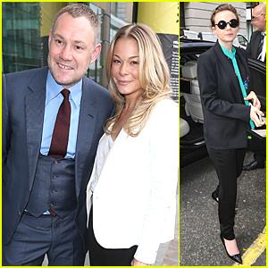 LeAnn Rimes & Carey Mulligan Hit Up BBC Studios in London