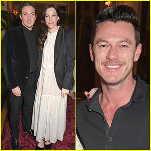 Liv Tyler & Luke Evans Meet Up at La Fille Mal Gardee Opening Night