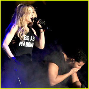 Madonna & Drake Respond to Haters of Their Coachella Kiss!