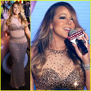 Mariah Carey Makes Grand Debut at Caesars Palace To Celebrate Las Vegas Residency!
