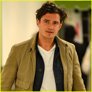 Orlando Bloom Goes Shirtless for Outdoor Workout ...