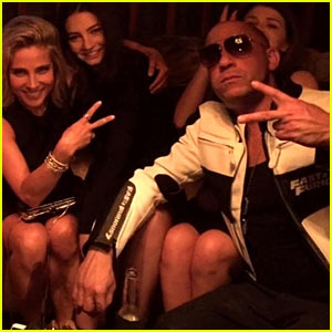 Paul Walker's Daughter Meadow Posts Cute Pic with Vin Diesel