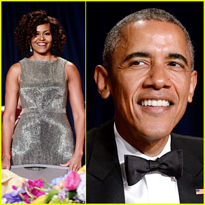 President Obama Delivers Funny Speech at WHCD 2015!