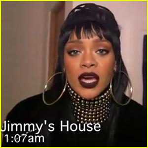 Rihanna's April Fool's Prank on Jimmy Kimmel Looks Hilarious - Watch Now!