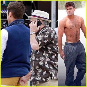 Robert De Niro Stuck His Thumb Up Zac Efron's Butt Today