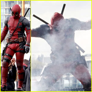 Ryan Reynolds's Full 'Deadpool' Suit Gets Pictured on Set!